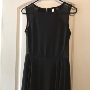 Xhilaration black high low dress